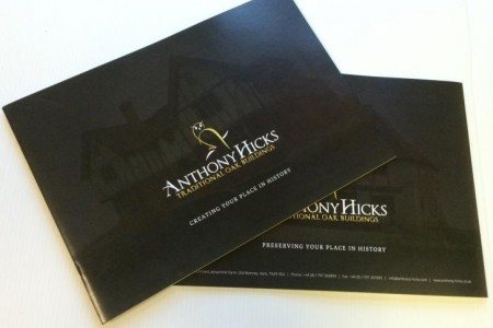 New Brochures for Anthony Hicks