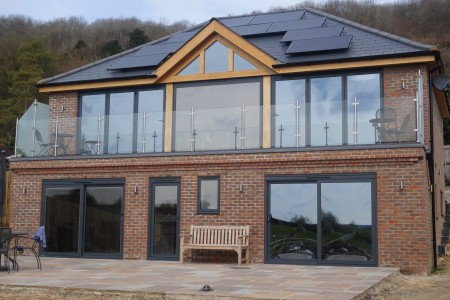 New Build House Completed in West Malling, Kent