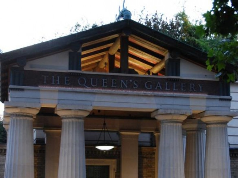 Oak Portico for The Queen's Gallery