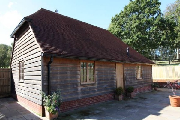 External New Oak Frame Building