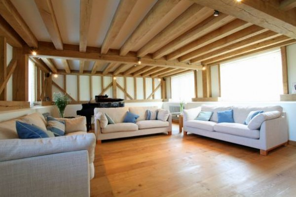 Oak Frame Extension Living Room