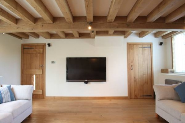 Internal Oak Frame Extension