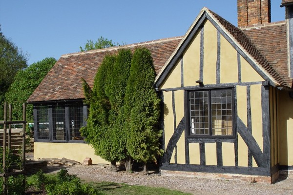 Grade Listed Oak Barn Extension