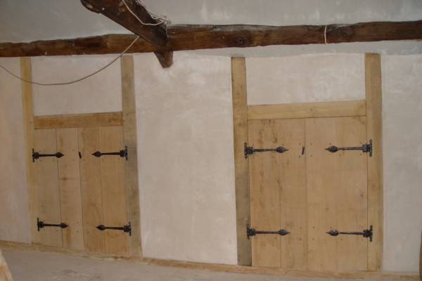 Double Oak Doors