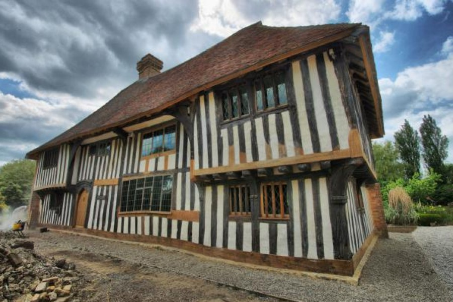 Restoration of Yardhurst Farm Oak Barn