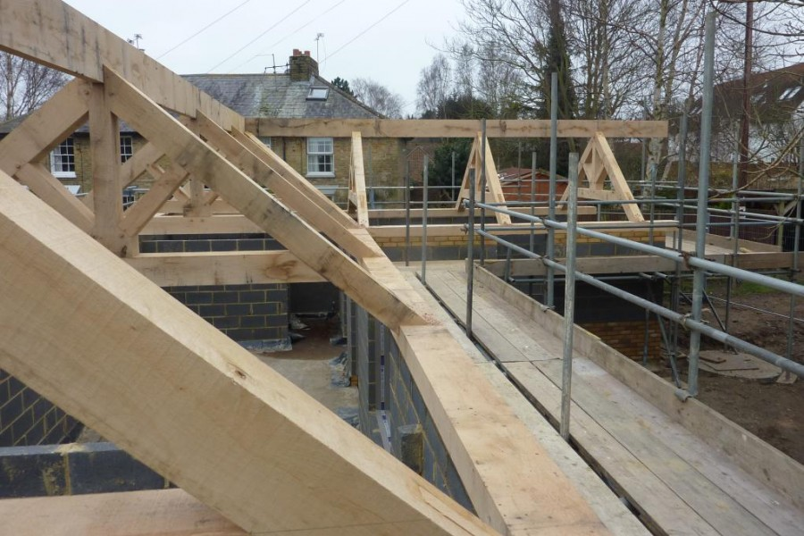 Oak Roof Frame
