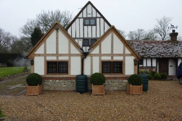 Oak Extension, Frame & Panel Repairs