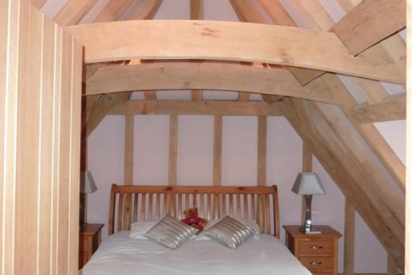 New Oak Frame Bedroom