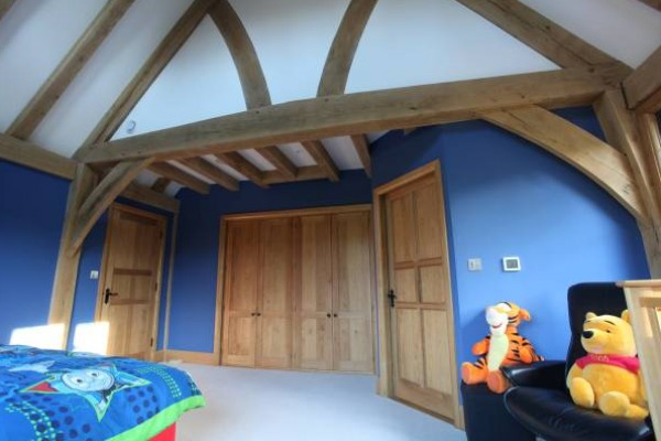 New Build Oak Frame Bedroom