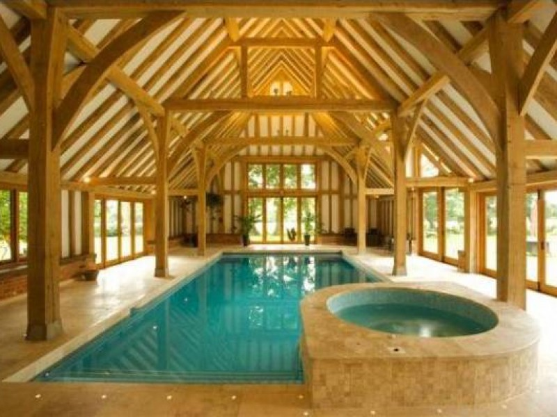 Oak Swimming Pool Buildings Kent Bespoke Oak Framed Buildings