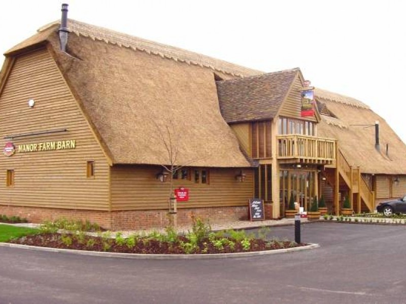 Oak Framed Thatched Pub Restaurant