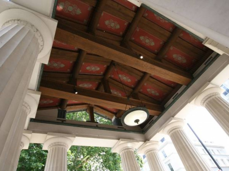 Internal Featured Oak Roof