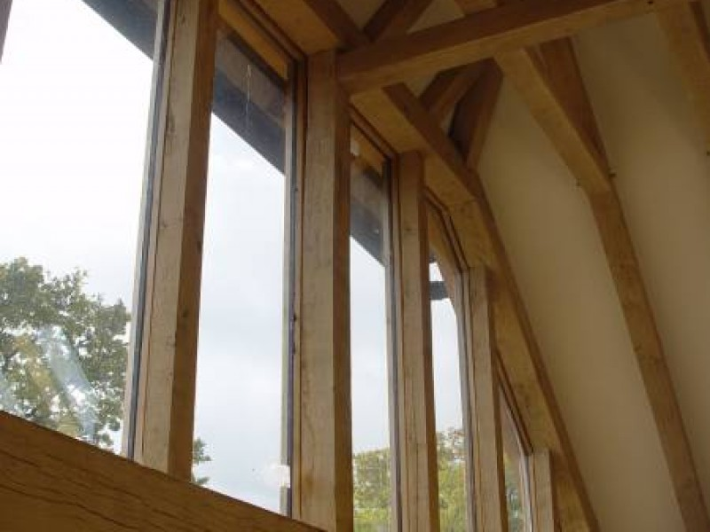 Oak Framed Windows