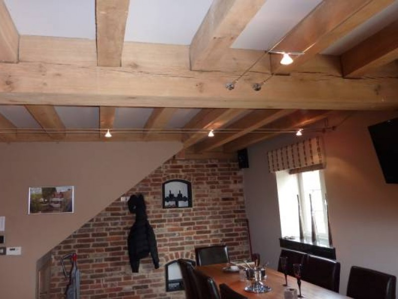 Oak Beams Dining Room