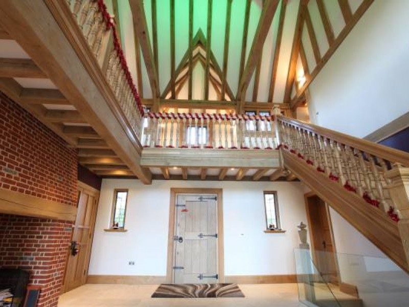 Oak Framed Entrance Hall