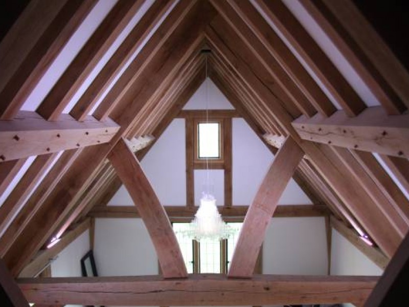 Featured Oak Roof