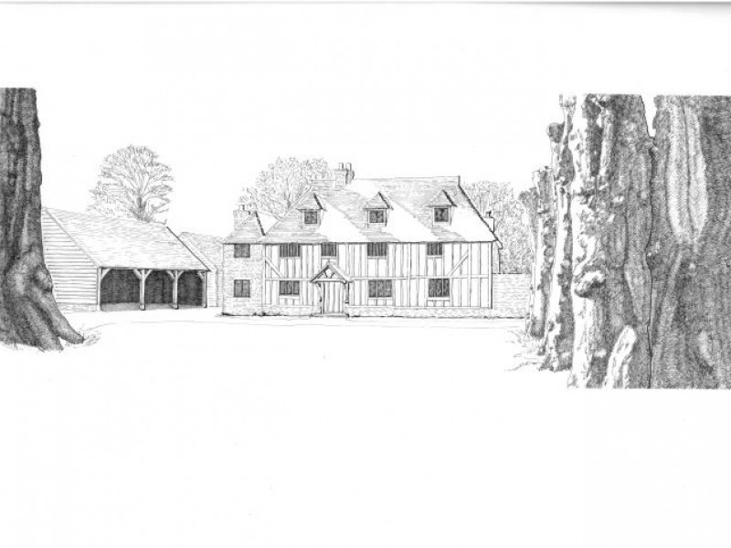 Sketch of Restoration Project
