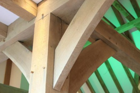 Internal Oak Beam Joint